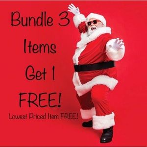 Bundle 3 items and Get One FREE! + Discounted Ship